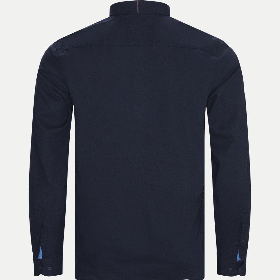 FLEX HERRINGBONE SHIRT - Flex Herringbone Shirt - Skjorter - Regular - NAVY - 2
