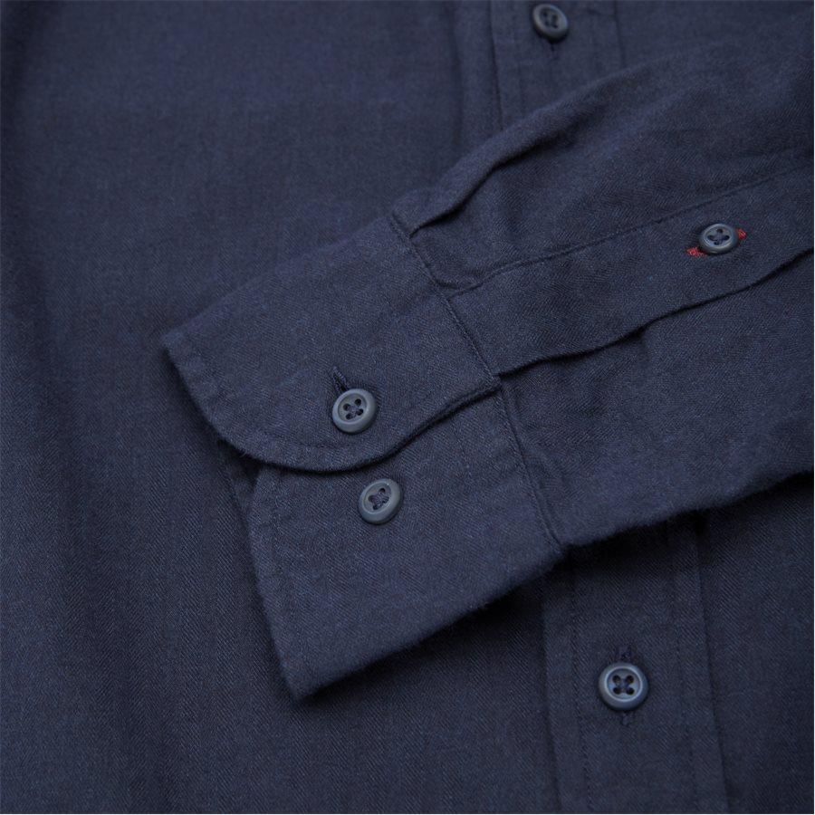 FLEX HERRINGBONE SHIRT - Flex Herringbone Shirt - Skjorter - Regular - NAVY - 3
