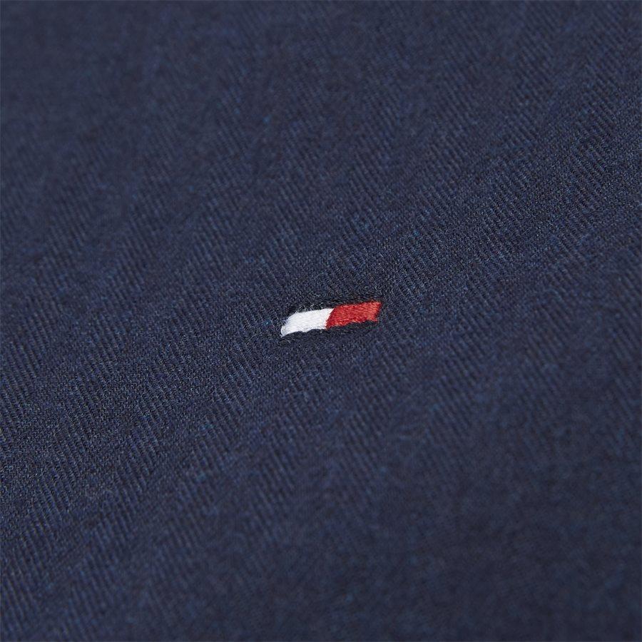FLEX HERRINGBONE SHIRT - Flex Herringbone Shirt - Skjorter - Regular - NAVY - 5