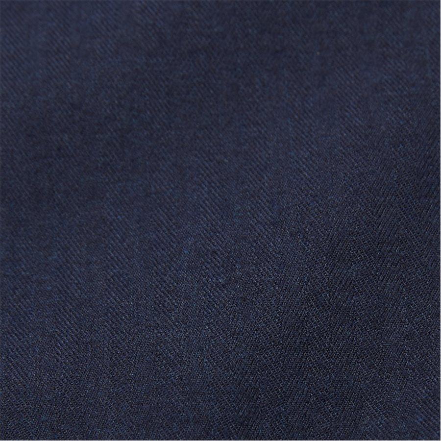 FLEX HERRINGBONE SHIRT - Flex Herringbone Shirt - Skjorter - Regular - NAVY - 7