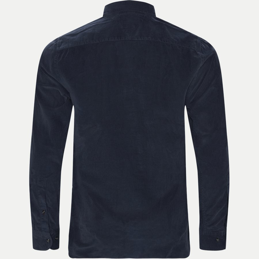 GARMENT DYED CORDUROY SHIRT - Garment Dyed Corduraoy Shirt - Skjorter - Regular - NAVY - 2