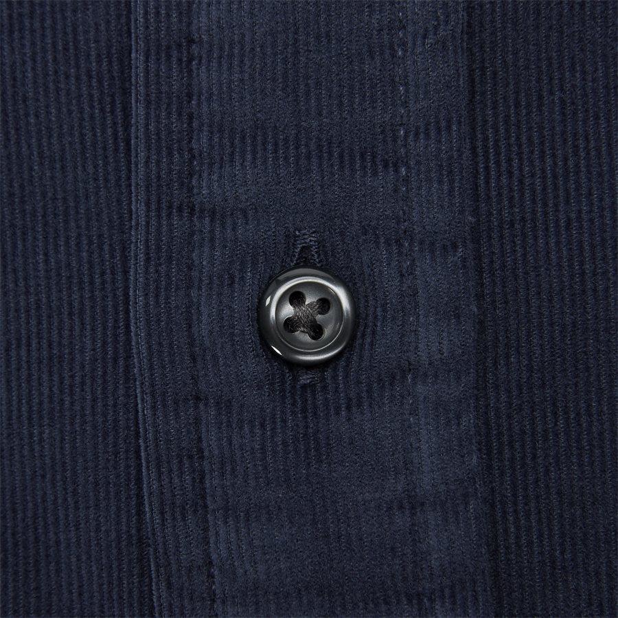 GARMENT DYED CORDUROY SHIRT - Garment Dyed Corduraoy Shirt - Skjorter - Regular - NAVY - 3