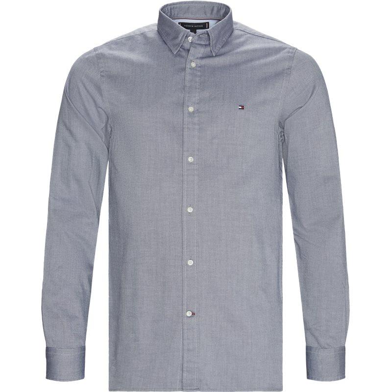tommy hilfiger Tommy hilfiger - slim 4 way stretch shirt på kaufmann.dk
