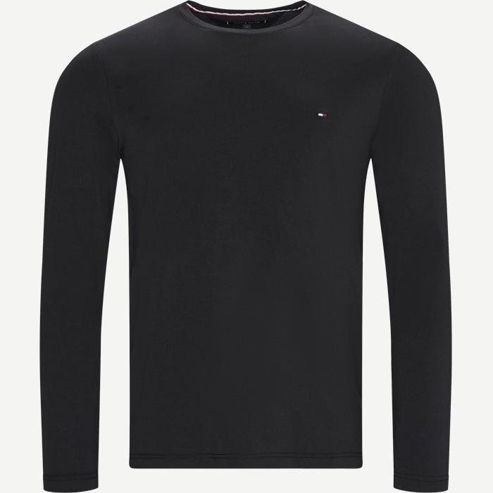 T-shirts - Slim - Black