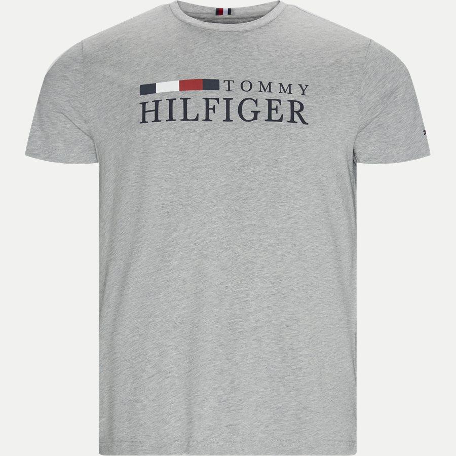 RWB TOMMY HILFIGER TEE - RWB Tommy Hilfiger Tee - T-shirts - Regular - GRÅ - 1