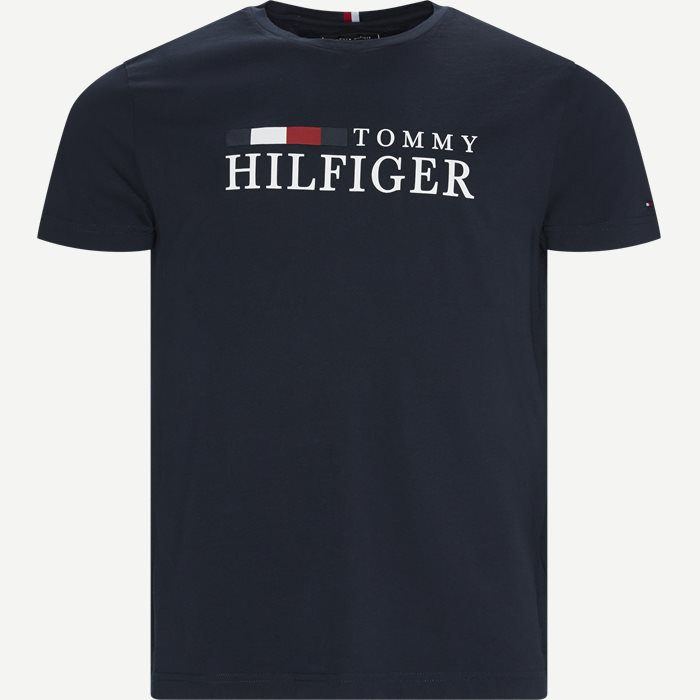 T-shirts - Regular - Blå