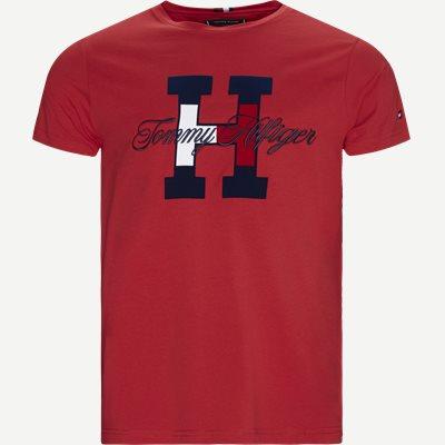 Regular | T-shirts | Röd