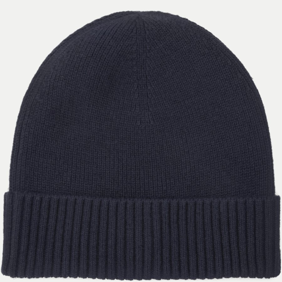 PIMA COTTON BEANIE - Pima Cotton Beanie - Caps - NAVY - 2