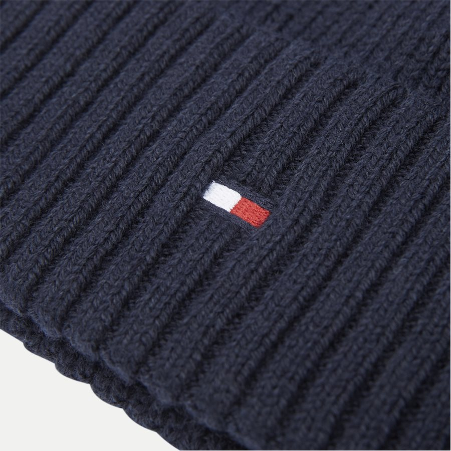 PIMA COTTON BEANIE - Pima Cotton Beanie - Caps - NAVY - 3