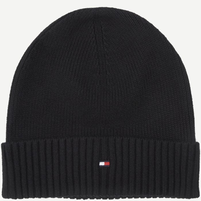 Pima Cotton Beanie - Caps - Sort