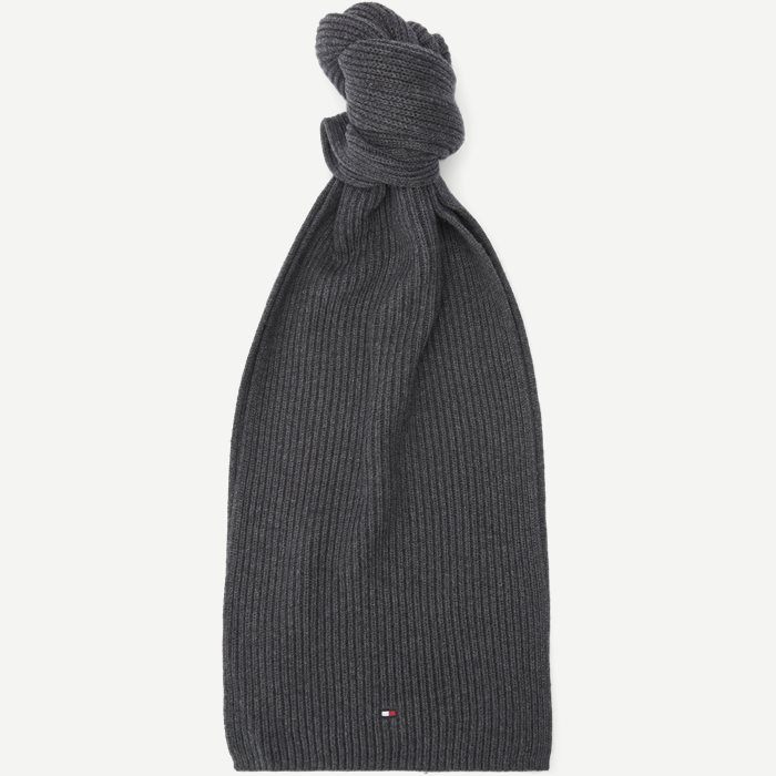 Pima Cotton Scarf - Tørklæder - Grå