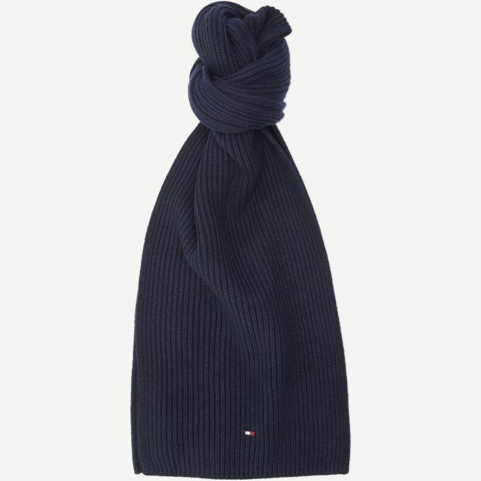 Pima Cotton Scarf - Tørklæder - Blå