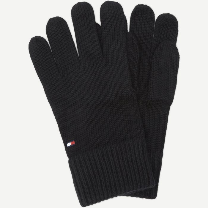 Pima Cotton Gloves - Handsker - Sort