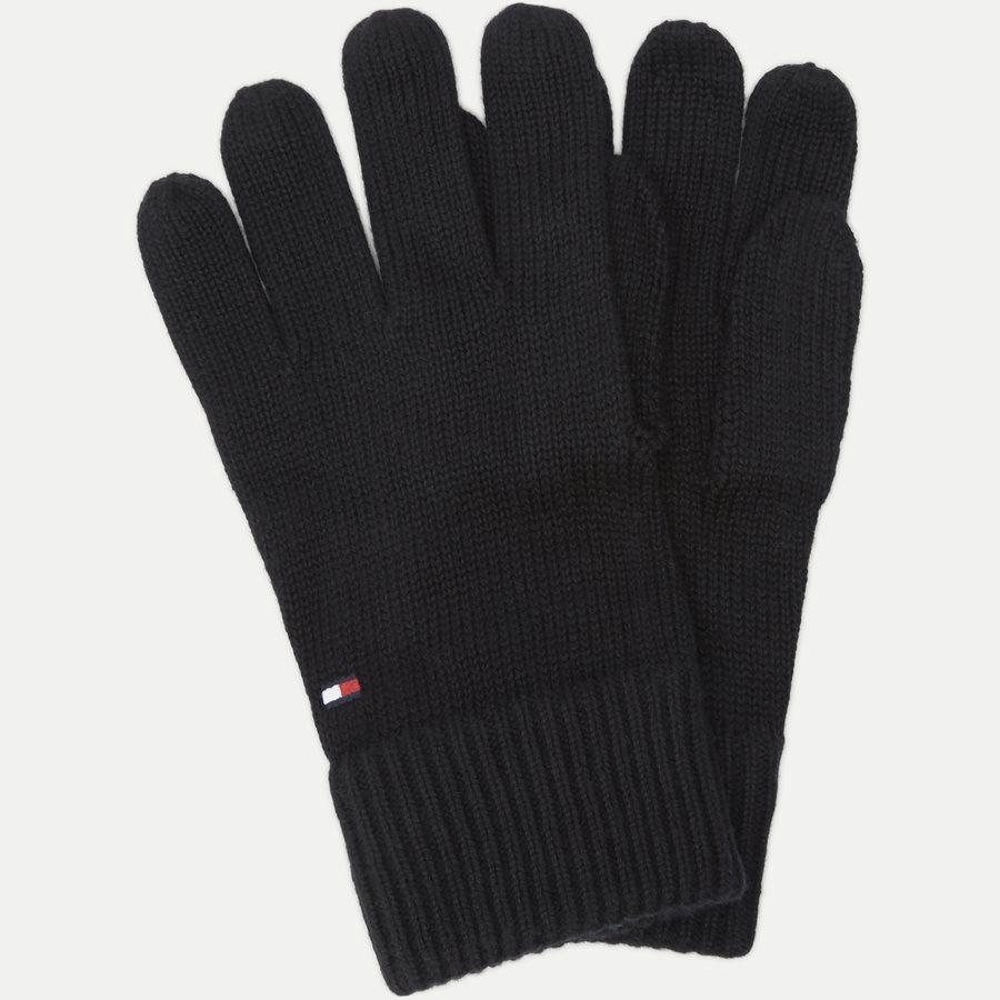 PIMA COTTON GLOVES - Pima Cotton Gloves - Handsker - SORT - 1