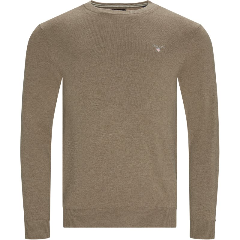 Image of   Gant - Superfine Lambswool Crew Neck Knit
