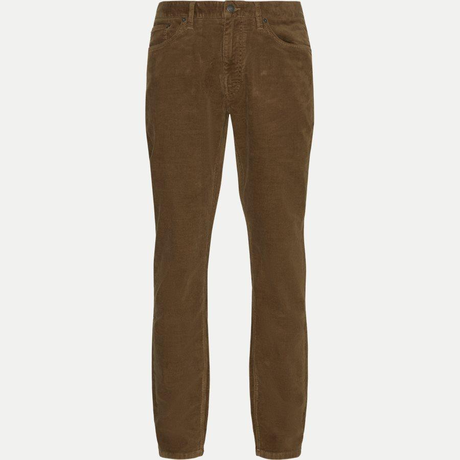 D1 SLIM CORD JEANS 1000188 - D1 Slim Cord Jeans - Jeans - Slim - KHAKI - 1