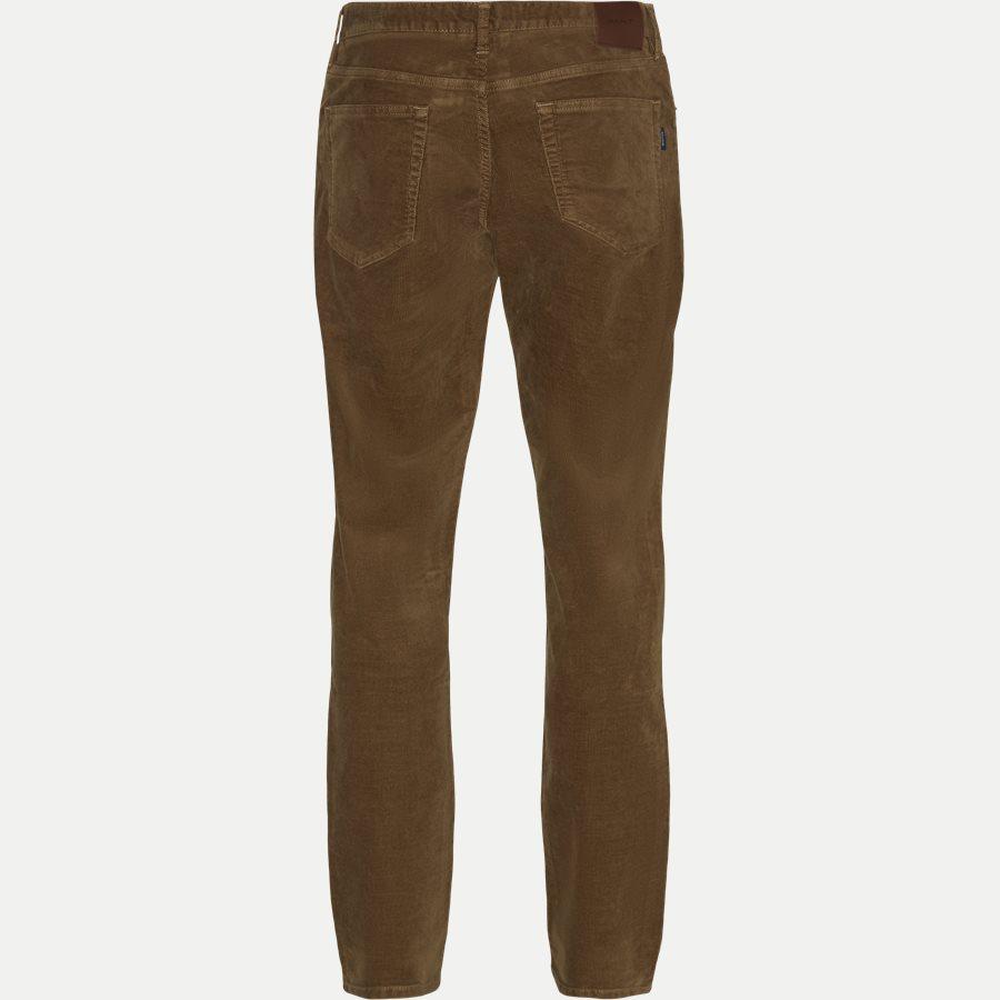 D1 SLIM CORD JEANS 1000188 - D1 Slim Cord Jeans - Jeans - Slim - KHAKI - 2