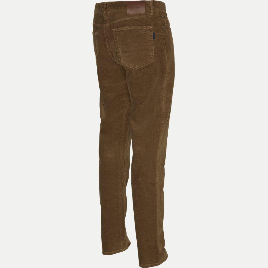 D1 SLIM CORD JEANS 1000188 - D1 Slim Cord Jeans - Jeans - Slim - KHAKI - 3