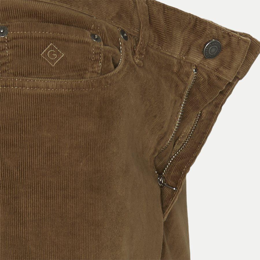 D1 SLIM CORD JEANS 1000188 - D1 Slim Cord Jeans - Jeans - Slim - KHAKI - 4