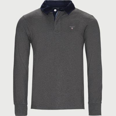 The Original Heavy Rugger Sweatshirt Regular | The Original Heavy Rugger Sweatshirt | Grå