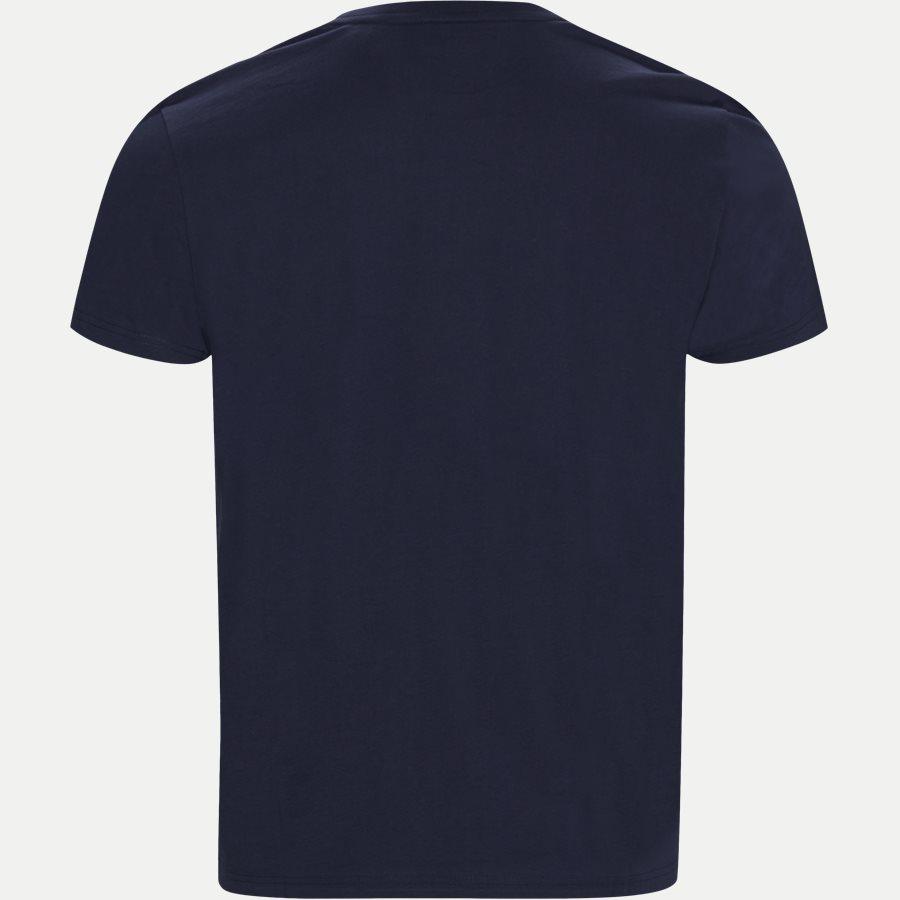 D1 GANT LOCK UP SS T-SHIRT - D1 Gant Lock Up SS T-shirt - T-shirts - Regular - BLÅ - 2