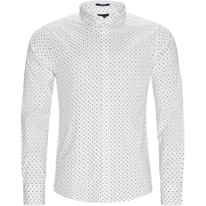 Image of   Gant - D1 Micro Scribble Print Shirt