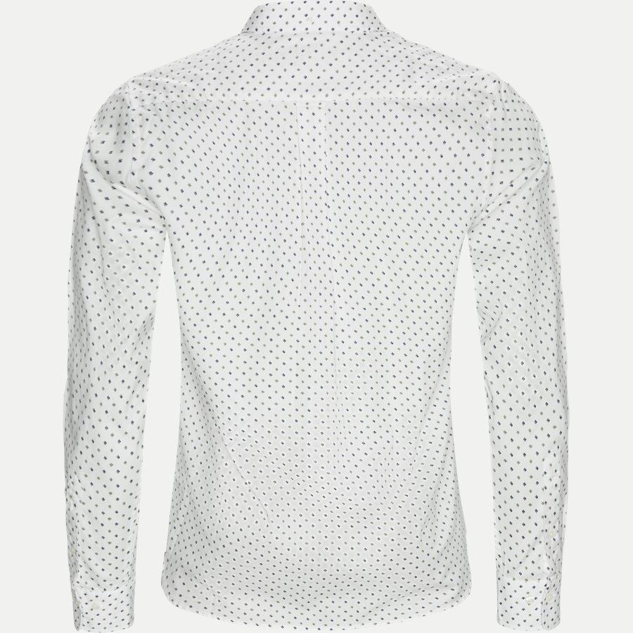 D1 MICRO SCRIBBLE PRINT - D1 Micro Scribble Print Shirt - Skjorter - Regular - GRØN - 2