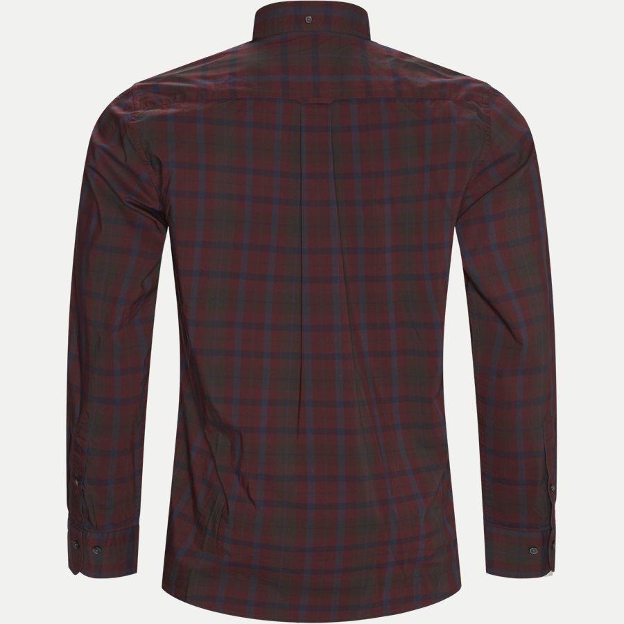 D2 TP BROADCLOTH PLAID - D2 TP Broadcloth Plaid Skjorte - Skjorter - Regular - BORDEAUX - 2