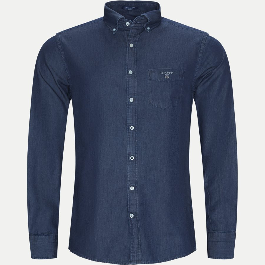 THE INDIGO 3040520 - The Indigo Shirt - Skjorter - Regular - DENIM - 1