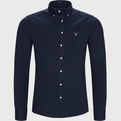 The Broadcloth Shirt Regular | The Broadcloth Shirt | Blå