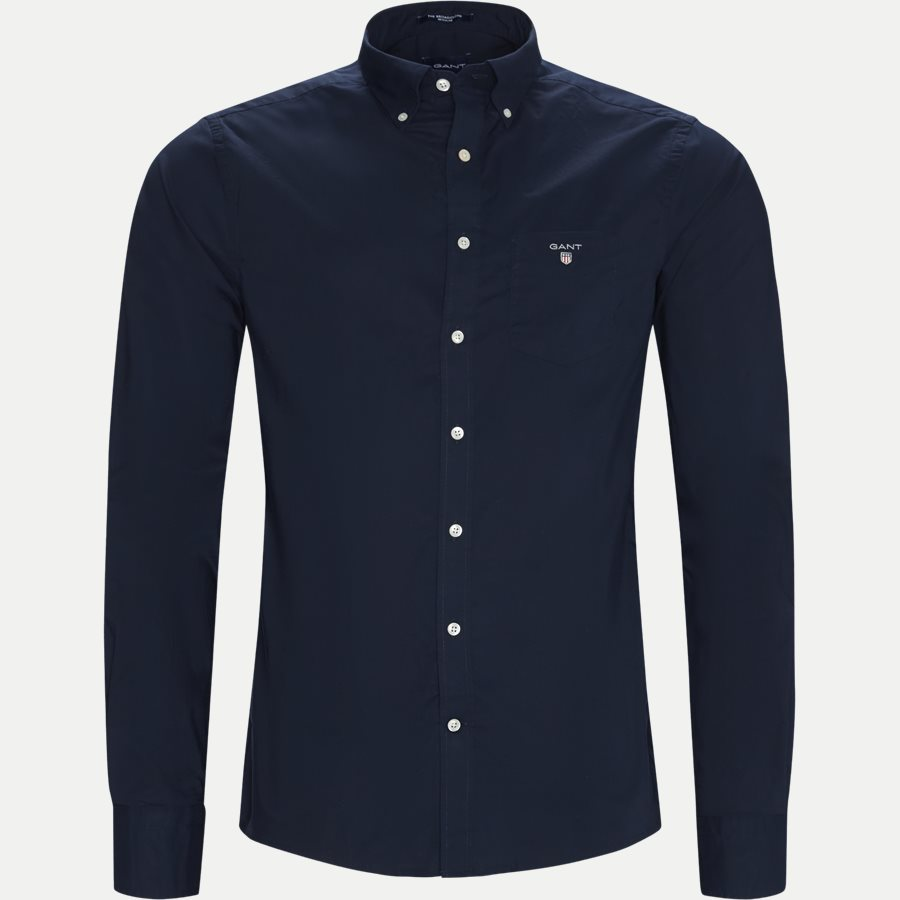 THE BROADCLOTH 3046400 - The Broadcloth Shirt - Skjorter - Regular - NAVY - 1