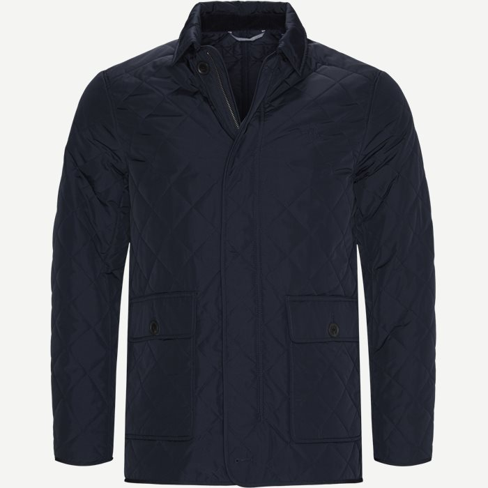 D1 The Quilted City Jacket - Jakker - Regular - Blå