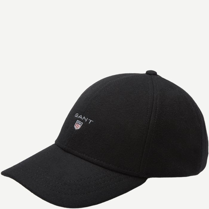 Melton Cap - Caps - Sort