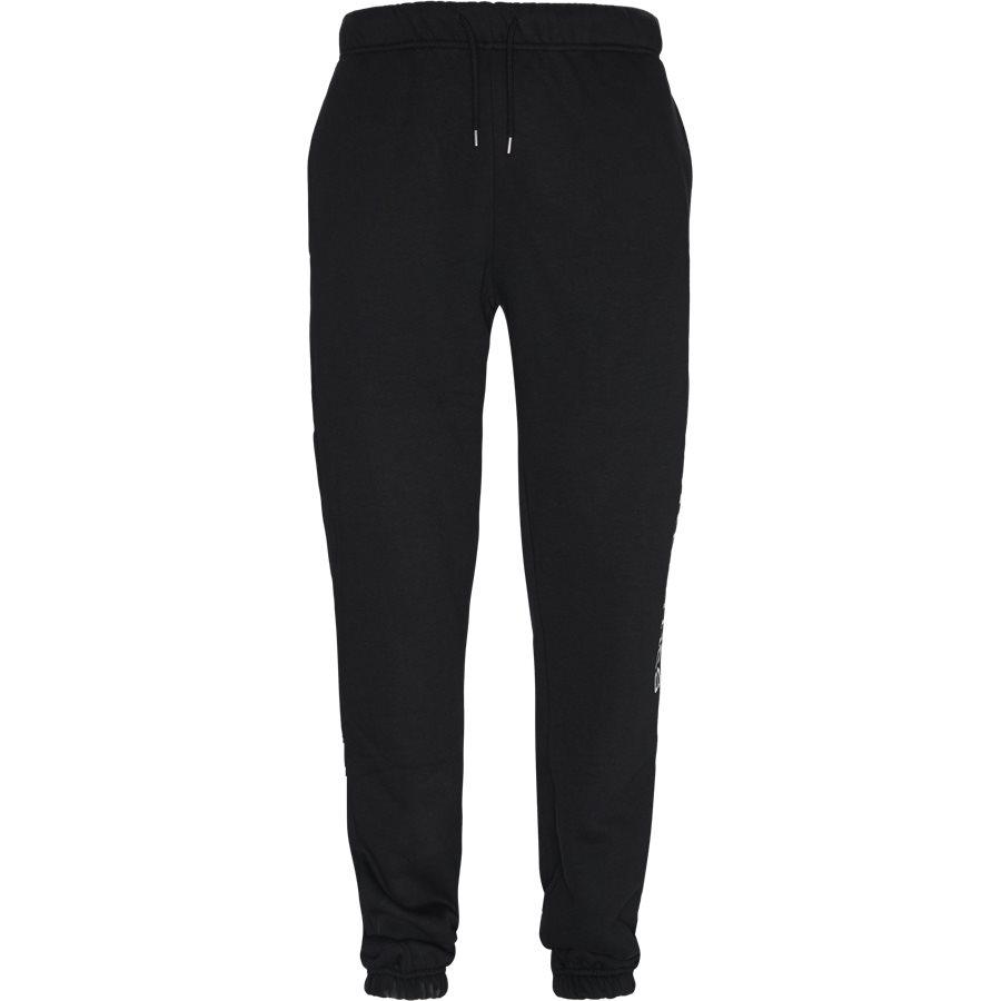 BOCA - Boca Sweatpants - Bukser - Regular - BLACK - 1