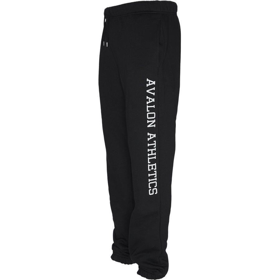 BOCA - Boca Sweatpants - Bukser - Regular - BLACK - 3