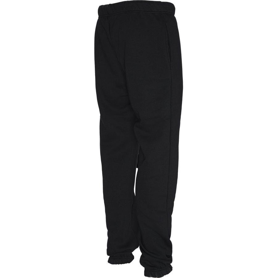 BOCA - Boca Sweatpants - Bukser - Regular - BLACK - 4