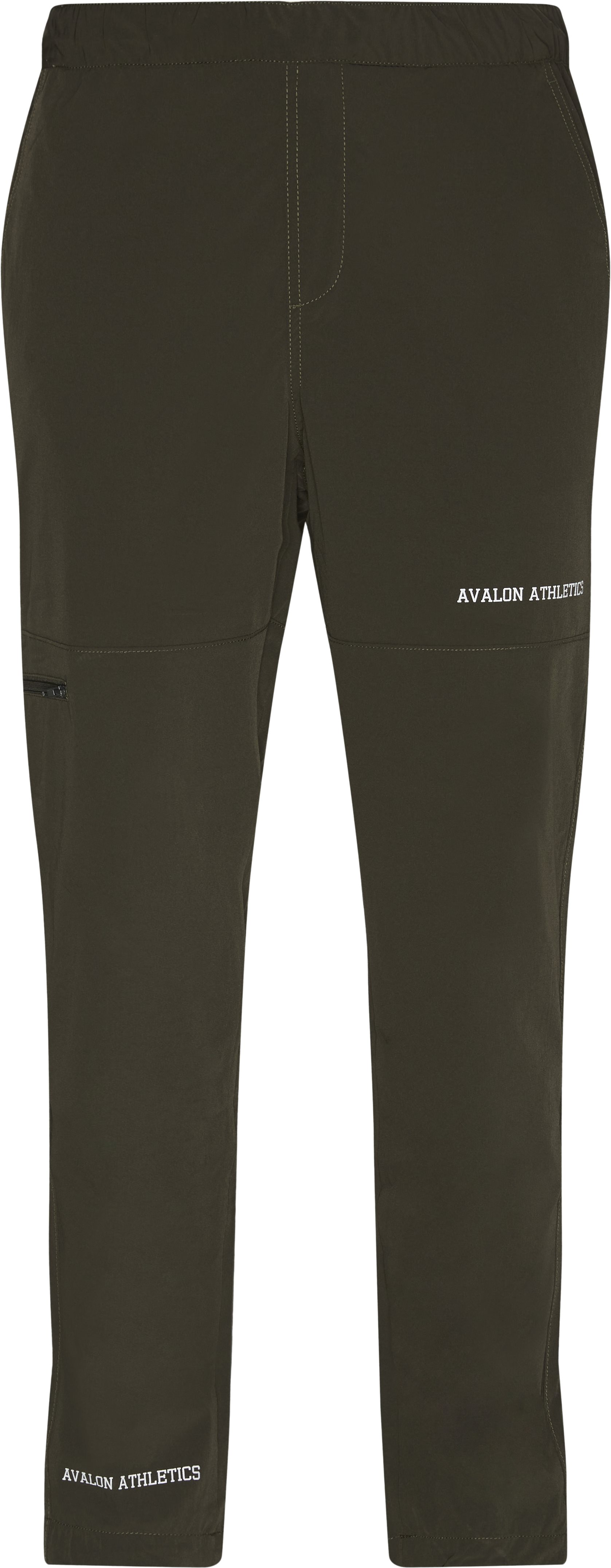 Bolton Track Pants - Trousers - Regular - Army