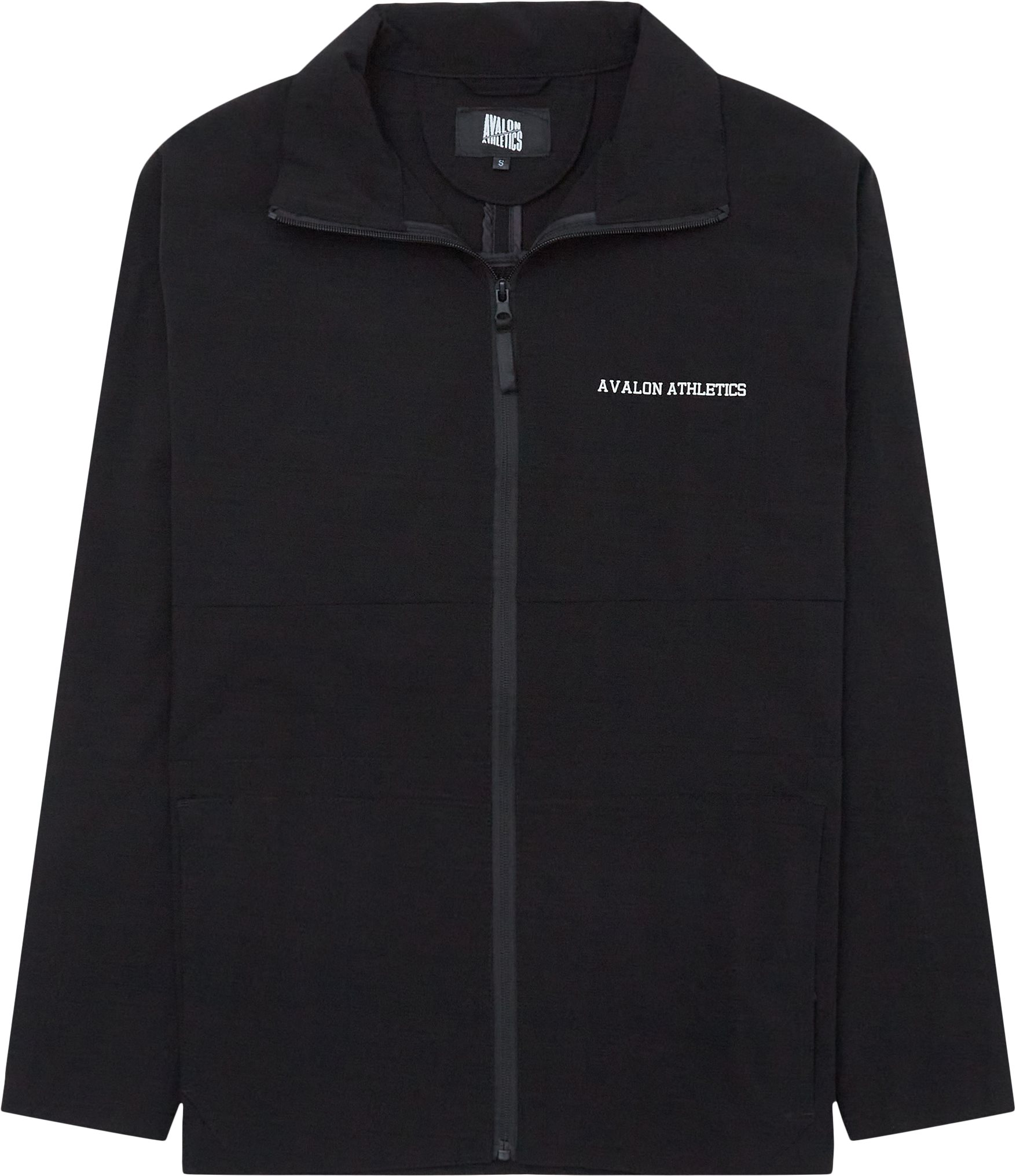 Phil Track Top - Jackets - Regular - Black