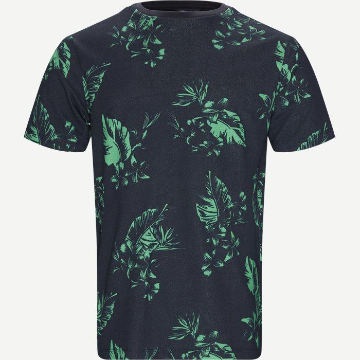Crew Neck T-shirt - T-shirts - Regular - Blå
