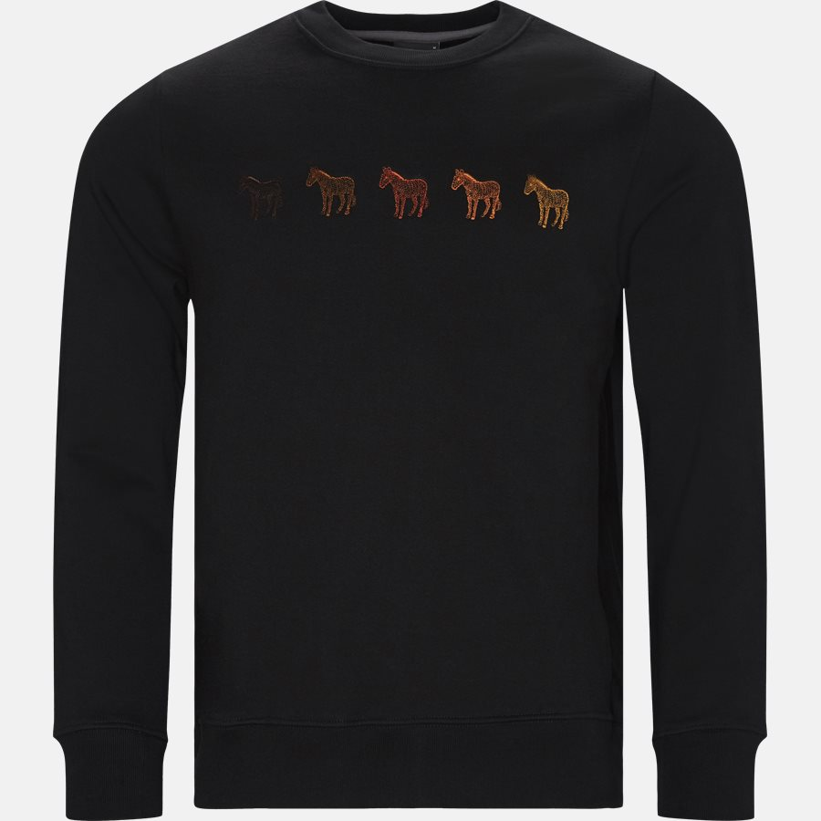 27RE AP1494  - Sweatshirts - Regular fit - SORT - 1