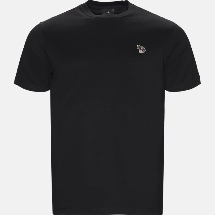 T-shirts - Regular fit - Sort