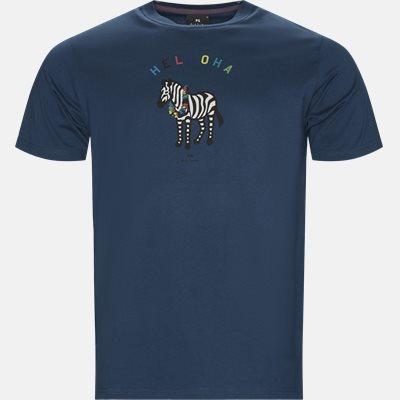 Regular fit   T-shirts   Blå