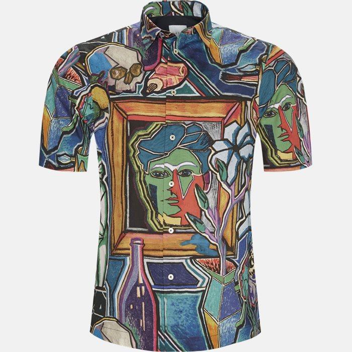 Short-sleeved shirts - Regular fit - Multi