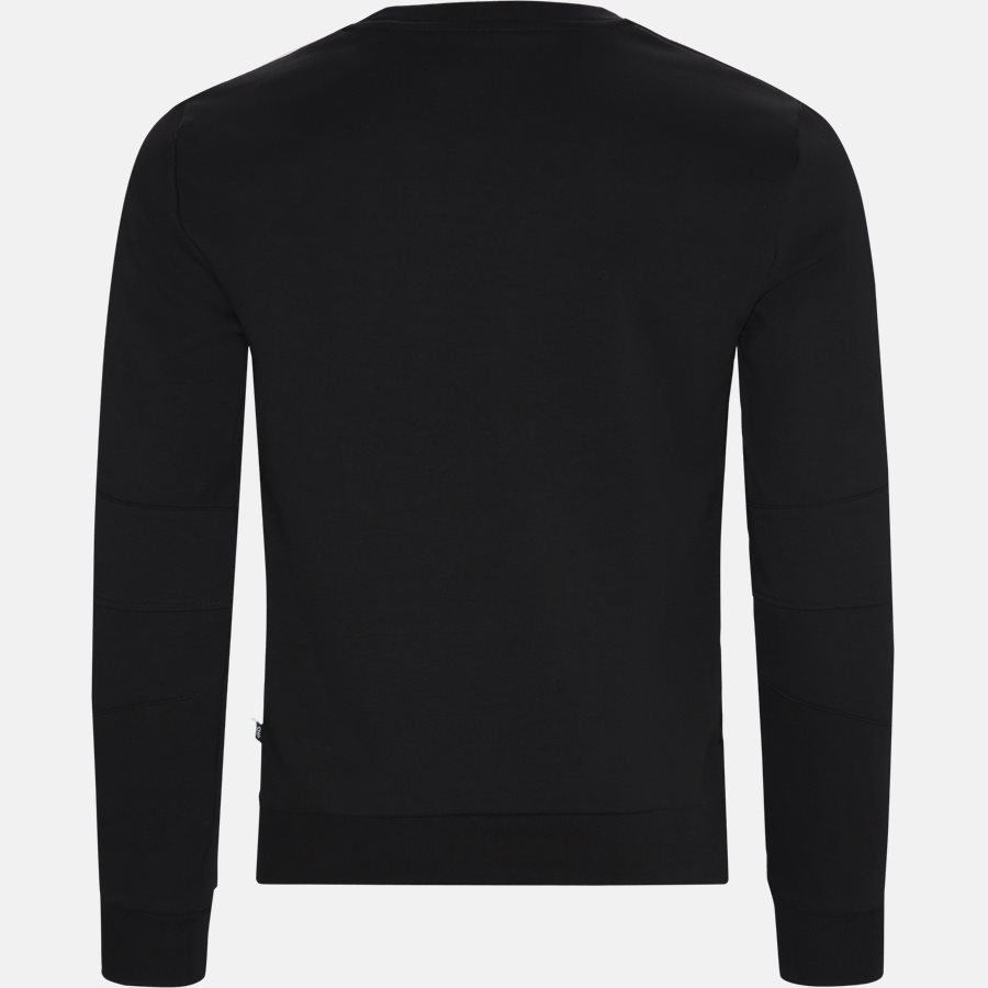 MJO620 PO002N - Sweatshirts - Regular fit - SORT/HVID - 2