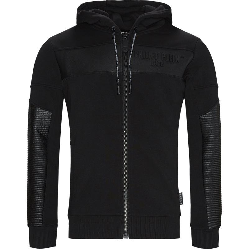 Philipp plein regular fit mjb1619 pjo002n sweatshirts sort fra philipp plein fra axel.dk