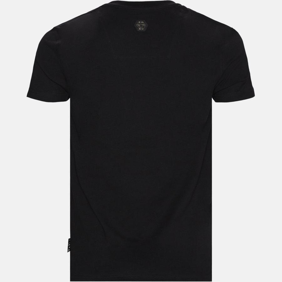 MTK3987 PJY002N - T-shirts - Regular fit - SORT/HVID - 2