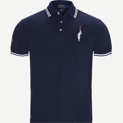 M Wimbledon Ret Polo T-shirt Regular | M Wimbledon Ret Polo T-shirt | Blå