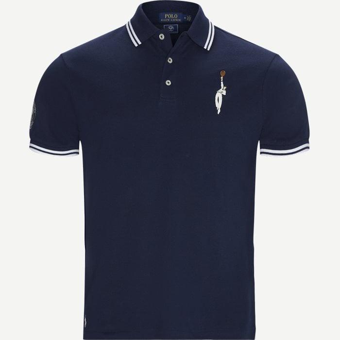 T-shirts - Regular - Blå