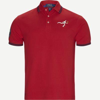 M Wimbledon Ret Polo T-shirt Regular | M Wimbledon Ret Polo T-shirt | Rød