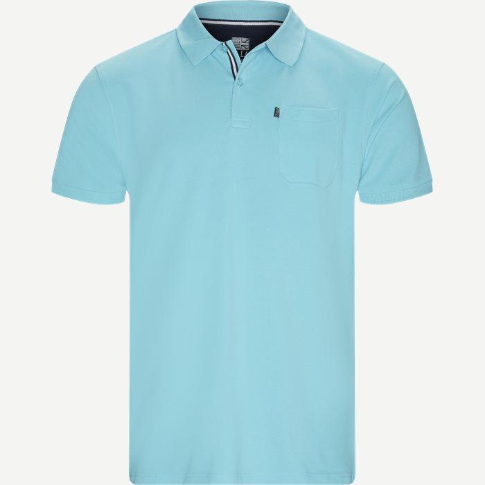Polo T-shirt - T-shirts - Regular - Turkis